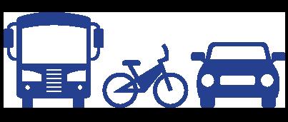 travel modes icon