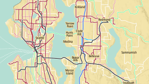map of the future Metro service network
